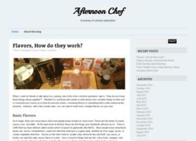 afternoonchef.com