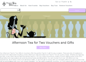 afternoonteafortwo.co.uk