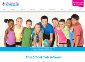 afterschoolclubmanager.com