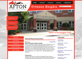 aftoncsd.org
