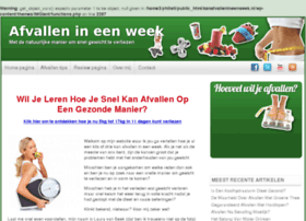 afvallen-ineenweek.nl