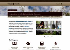 ag.txstate.edu