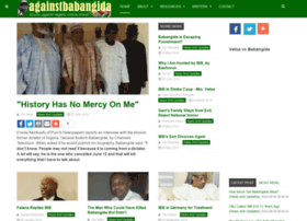 againstbabangida.com