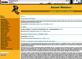 againstmonopoly.com