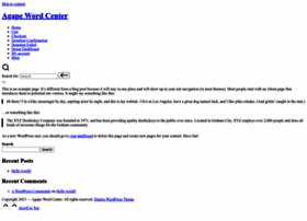 agapewordcenter.org