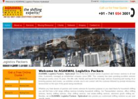 agarwallogisticspackers.com