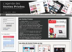 agendaventeprivee.com