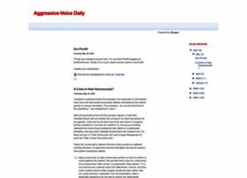aggressivevoicedaily.blogspot.com