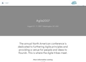 agile2007.agilealliance.org