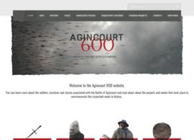 agincourt600.com