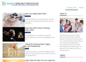 agingbreakthroughs.com