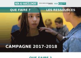 agircontreleharcelementalecole.gouv.fr
