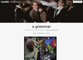 agrammar.tumblr.com