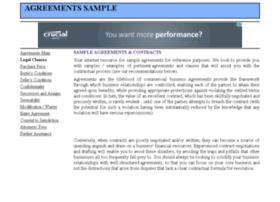 agreementssample.com