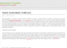agreementtemplatess.org
