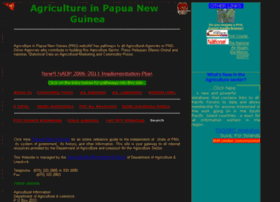 agriculture.org.pg