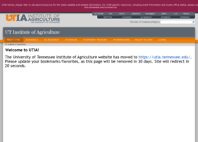 agriculture.tennessee.edu