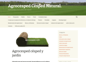 agrocesped.com