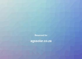 agssolar.co.za