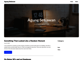agung-setiawan.com
