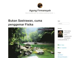 agungfirmansyah.wordpress.com