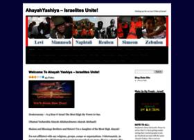 ahayahyashiyaisraelitesunite.wordpress.com