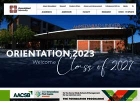 ahduni.edu.in