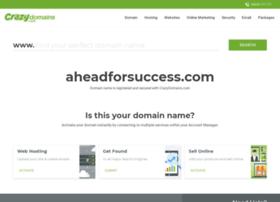 aheadforsuccess.com