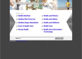 ahealthymission.com
