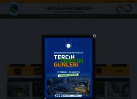 ahievran.edu.tr