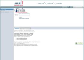 ahlei.sistemlms.com