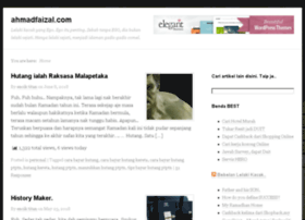 ahmadfaizal.com