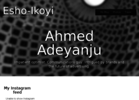 ahmedadeyanju.com