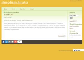 ahmedmatchmaker.spruz.com