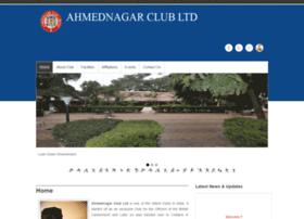 ahmednagarclub.com