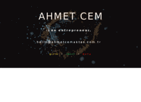 ahmetcem.net