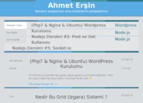 ahmetersin.org