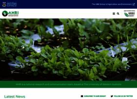 ahri.uwa.edu.au