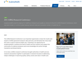 ahrqresearchconf.academyhealth.org