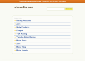 ahrs-online.com