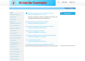 aibe8.allindiabarexamination.com