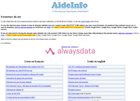 aideinfo.com