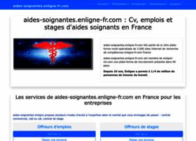 Aides-soignantes.enligne-fr.com