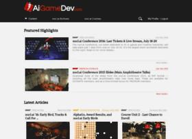 aigamedev.com