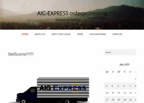 aigexpressorderprocessing.wordpress.com