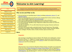 aimlearning.co.uk