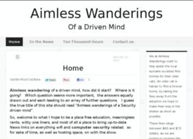 aimlesswanderings.net