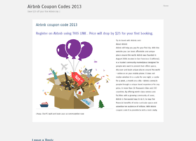 airbnbcouponcodes2013.wordpress.com