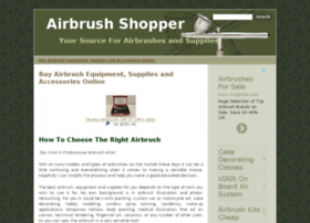 airbrushshopper.com