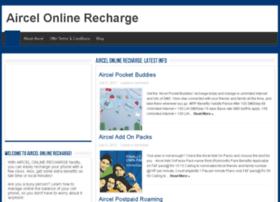 aircelonlinerecharge.net